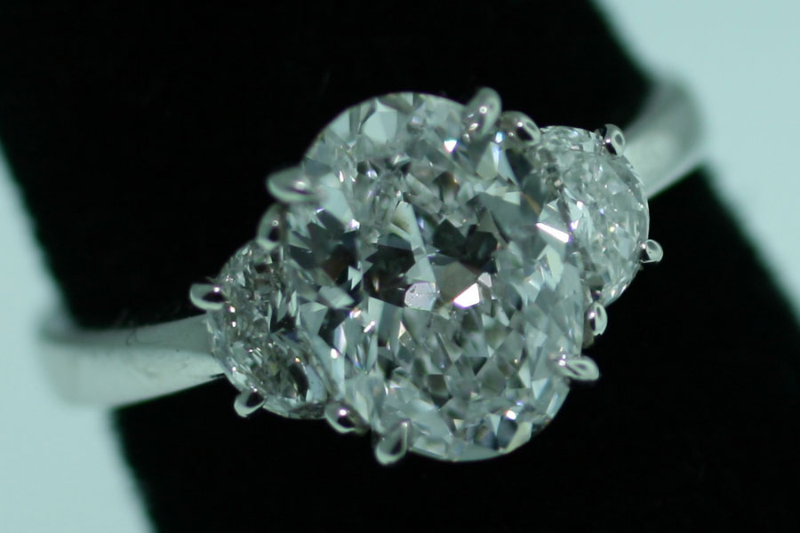 Detail of a Diamond Ring