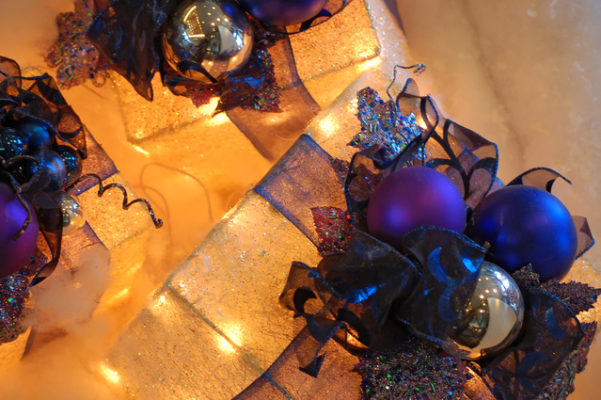 Holiday Gifts, Ribbons and Baubles